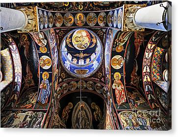 Religious Canvas Print - Orthodox Church Interior by Elena Elisseeva
