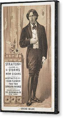 Oscar Wilde Canvas Print by British Library