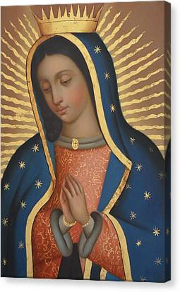Our Lady Of Guadalupe Canvas Print by Jose antonio Robles