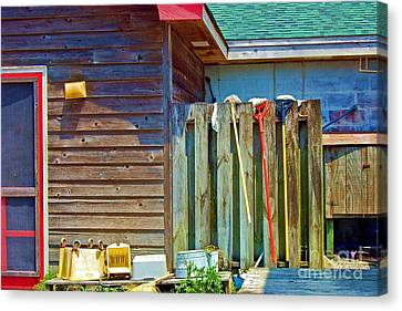 Out To Dry Canvas Print by Debbi Granruth