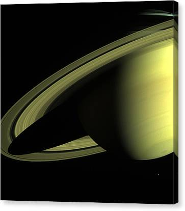 Outer Space Two Nine Nine Canvas Print by Nasa Usgs