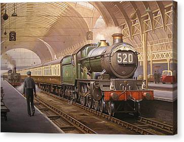Paddington Arrival. Canvas Print