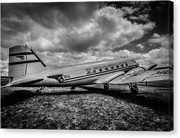 Pan American Airways Dc3 Canvas Print by Puget  Exposure