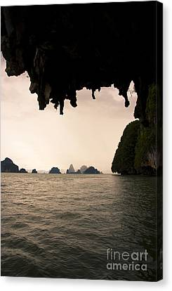 Panak Island Caves Canvas Print by Jorgo Photography - Wall Art Gallery