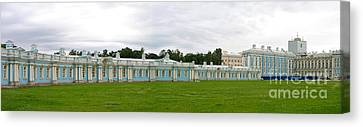 Panorama Catherine Park Castle Canvas Print by Art Photography