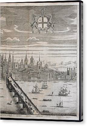 Panorama Of London Canvas Print