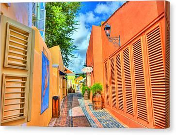 Paradise Colors Canvas Print