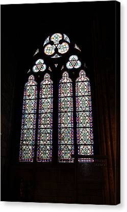 Figure Canvas Print - Paris France - Notre Dame De Paris - 01133 by DC Photographer
