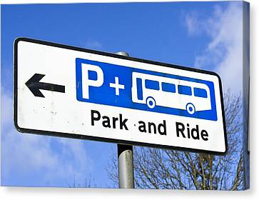 Park And Ride Canvas Print