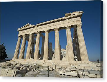 Daniel Canvas Print - Parthenonathens Greece by Daniel Alexander