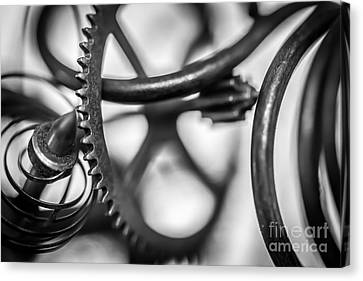 Parts Canvas Print by David Rucker