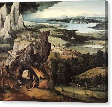 Localities Canvas Print - Patinir, Joachim 1480-1524. Landscape by Everett