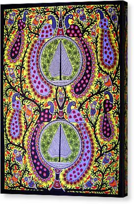 Peacocks Canvas Print