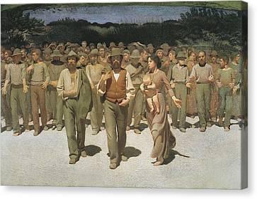 Pellizza Da Volpedo, Giuseppe Canvas Print by Everett