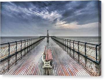 Penarth Pier 4 Canvas Print by Steve Purnell