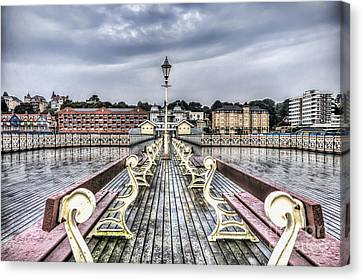 Penarth Pier 5 Canvas Print by Steve Purnell