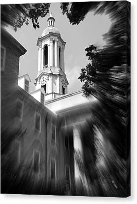 Penn State Old Main Canvas Print by Mary Beth Landis