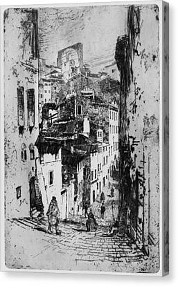 Pennell Siena, 1883 Canvas Print