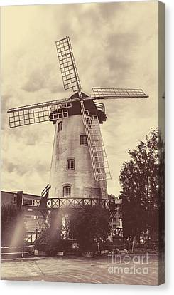 Penny Royal Windmill In Launceston Tasmania  Canvas Print
