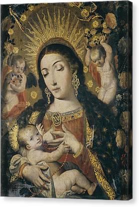 Perez De Holguin, Melchor 1665-1724 Canvas Print by Everett