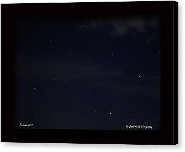 Perseid Meteor Canvas Print by PJQandFriends Photography