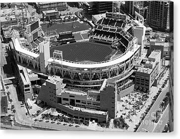 San Diego California Baseball Stadiums Canvas Print - Petco Park San Diego Ca by Bill Cobb