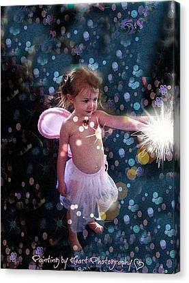 Fairy Magic Canvas Print by Deahn      Benware
