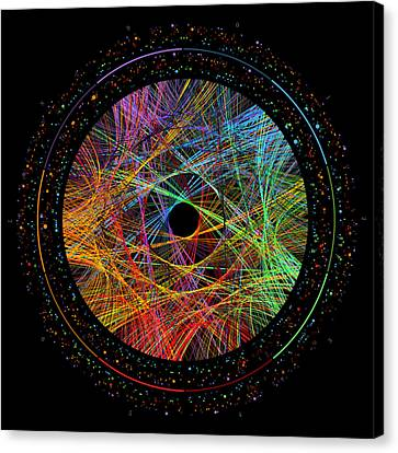 Data Canvas Print - Phi Transition Paths by Martin Krzywinski