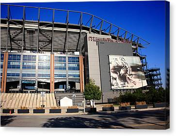 Philadelphia Eagles - Lincoln Financial Field Canvas Print by Frank Romeo