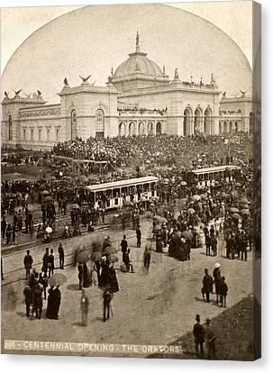 Philadelphia Expo, 1876 Canvas Print by Granger
