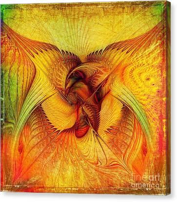 Phoenix Canvas Print by Klara Acel