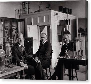 Physiology Researchers Canvas Print by National Library Of Medicine