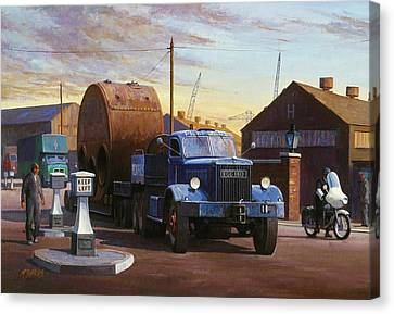 Pickfords Diamond T Canvas Print by Mike  Jeffries