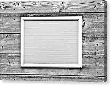 Picture Frame Canvas Print by Tom Gowanlock