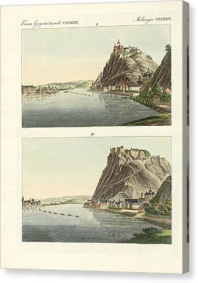 Picturesque Views Of The Rhine Canvas Print