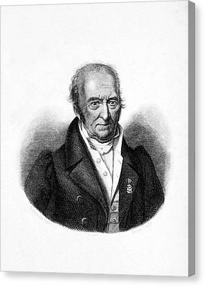 Pierre Andre Latreille Canvas Print by National Library Of Medicine