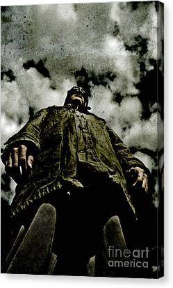 Pilots Perspective Canvas Print by Jorgo Photography - Wall Art Gallery