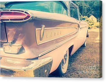 Pink Ford Edsel  Canvas Print