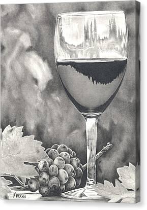 Pinot Adoration Canvas Print