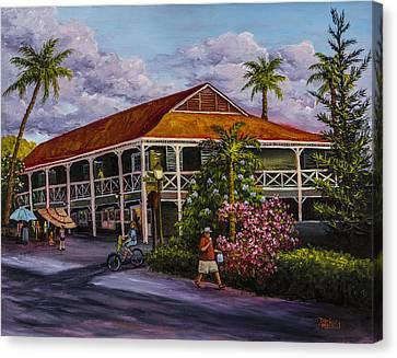 Pioneer Inn Lahaina Canvas Print