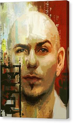 Pitbull Canvas Print by Corporate Art Task Force