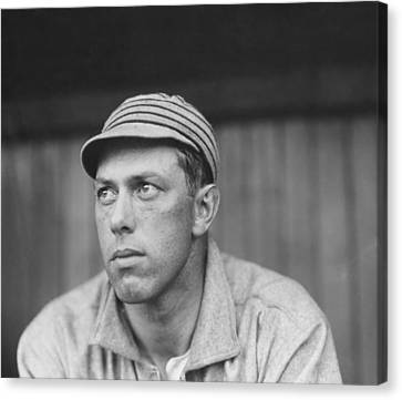 Old Pitcher Canvas Print - Pitcher Jack Coombs - Philadelphia Athletics 1911 by Mountain Dreams