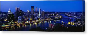 Pittsburgh Pa Canvas Print by Panoramic Images