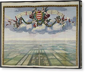 Plan Or View Of Heemstede Canvas Print by British Library