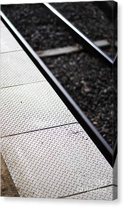 Platform Particulars Canvas Print by Jorgo Photography - Wall Art Gallery