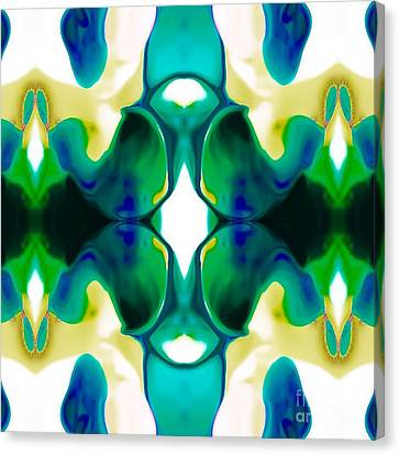 Abstract Digital Canvas Print - Playful by Gayle Price Thomas