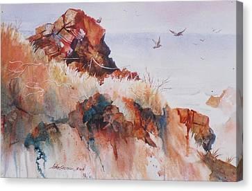 Point Lobos Precipice Canvas Print by John  Svenson