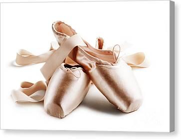 Pointe Shoes Canvas Print by Jelena Jovanovic