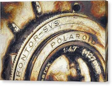 Polaroid Pathfinder  Canvas Print by Scott Norris