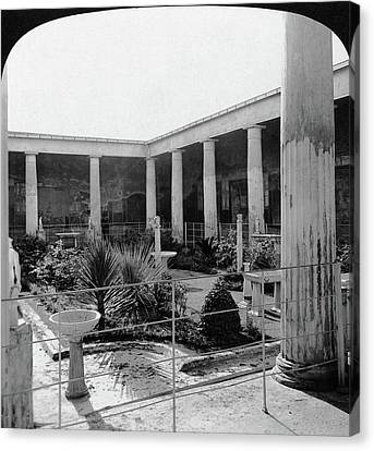 Pompeii House Of The Vettii Canvas Print
